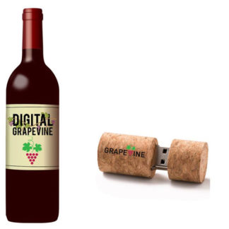 Digital Grapevine Wine and Grapevine USB
