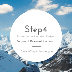 Five Steps to Content Creation Step 4